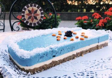 BLUE MAJIK Raw Cake