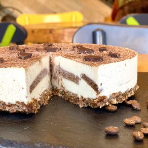 Tiramisu Raw Vegan - Sweet and Raw