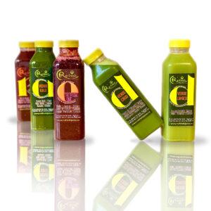 Cura de Detoxifiere cu Sucuri Crude - Re-fresh Juice