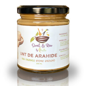 Unt de Arahide Natural 100%